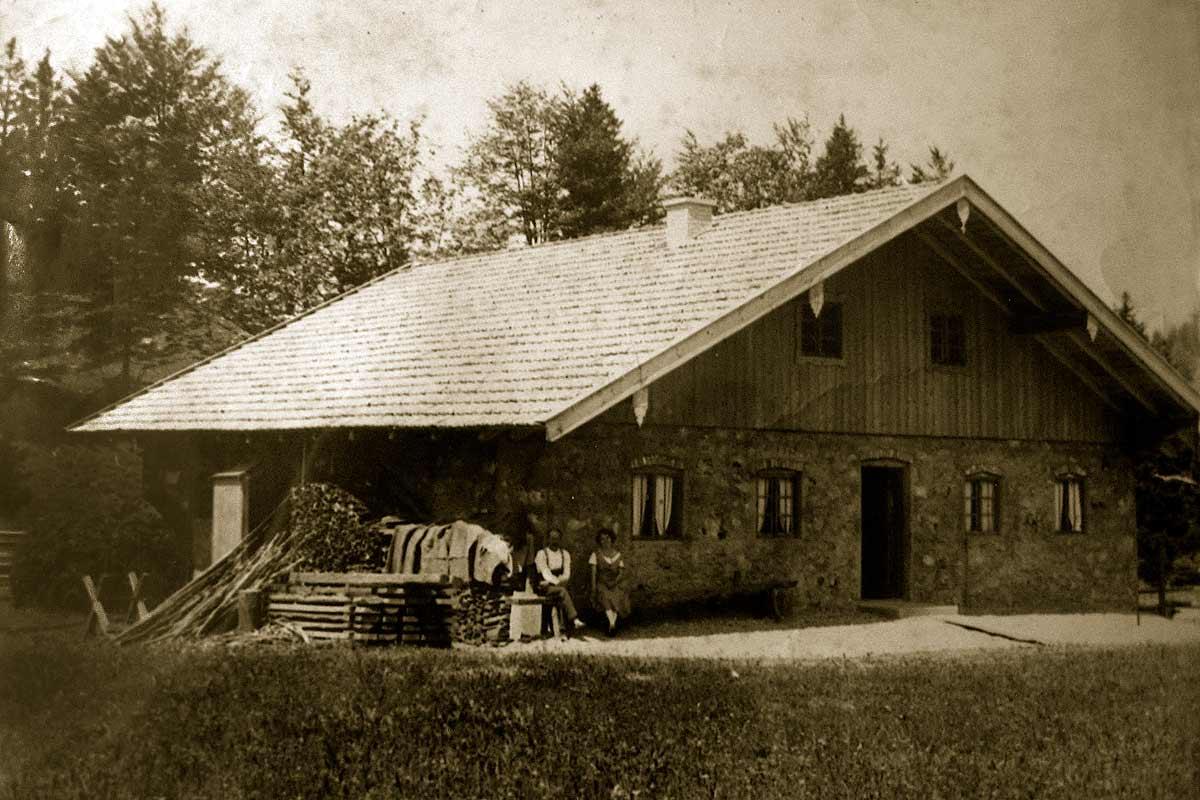 Doagl Alm im Jahr 1931